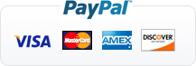 Payment through Paypal [Accept Visa, Master, Amex, Discover Card]